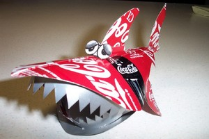 Aluminum Can Shark