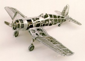 aluminum can airplane